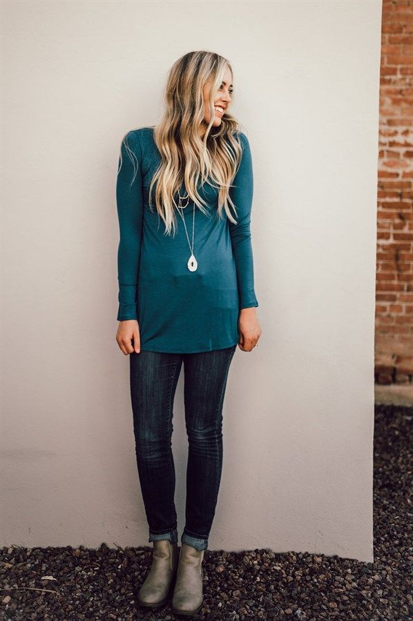 If you're looking for a few basics to start off your fall and winter wardrobe, these solid tunics are a must!