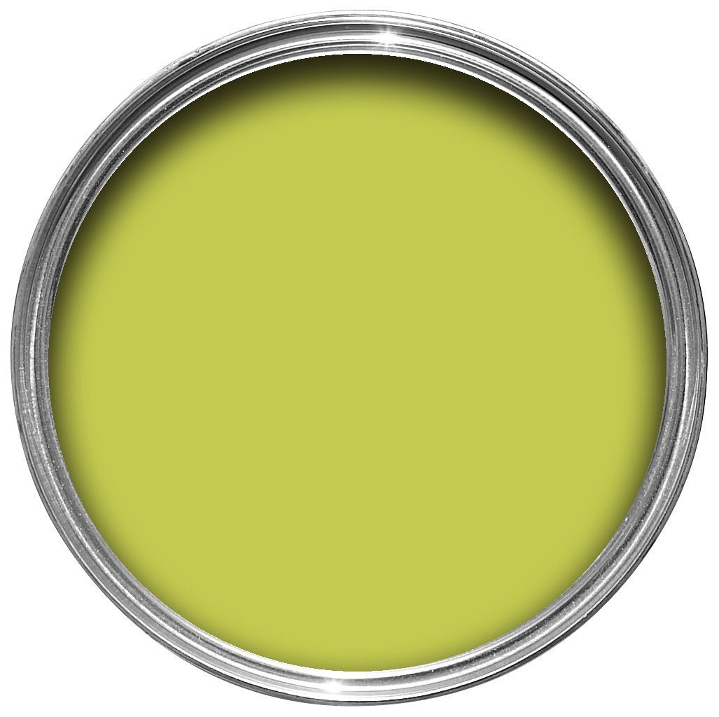Dulux Made By Me Interior Exterior Luscious Lime Gloss Paint 750ml Departments Diy At B Q