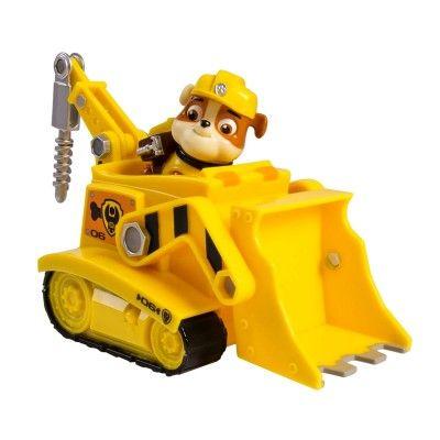 Vehicule Paw Patrol Pat Patrouille Avec Figurine Bulldozer Et Ruben Spin Master Magasin De Jouets Pour Enfants Paw Patrol Jouet Jouet Enfant