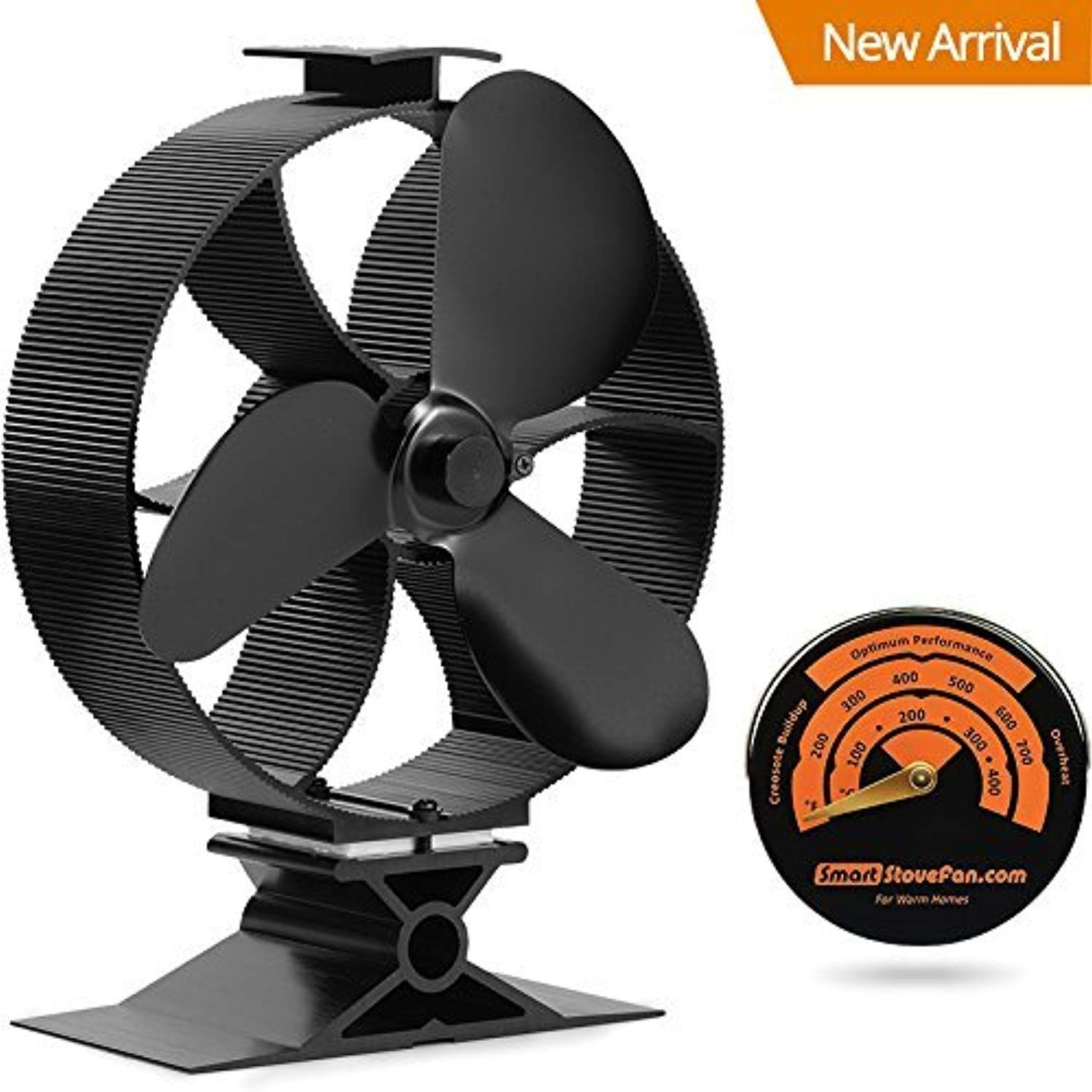 Galafire 2017 New Heat Powered Stove Top Fan Wood Stove Fan With Gift Stove Thermometer You Can Find More Details By Visiti Stove Fan Wood Stove Log Burner