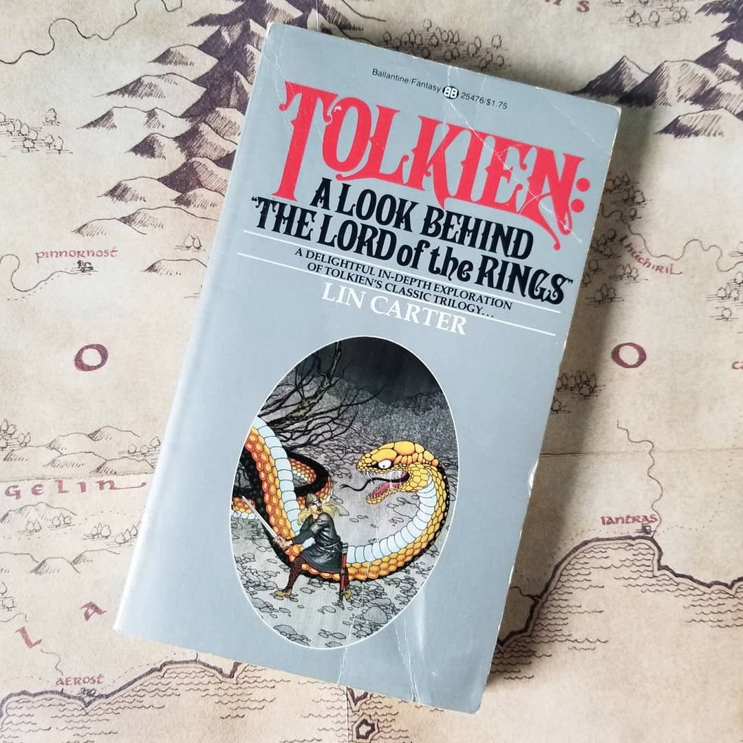 Tolkien A Look Behind The Lord Of The Rings Was Written By Lin