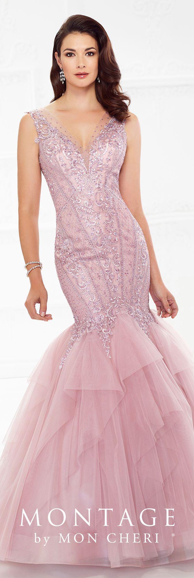 Montage by Mon Cheri - 118972 | Vestido formal, Vestido bordado y ...