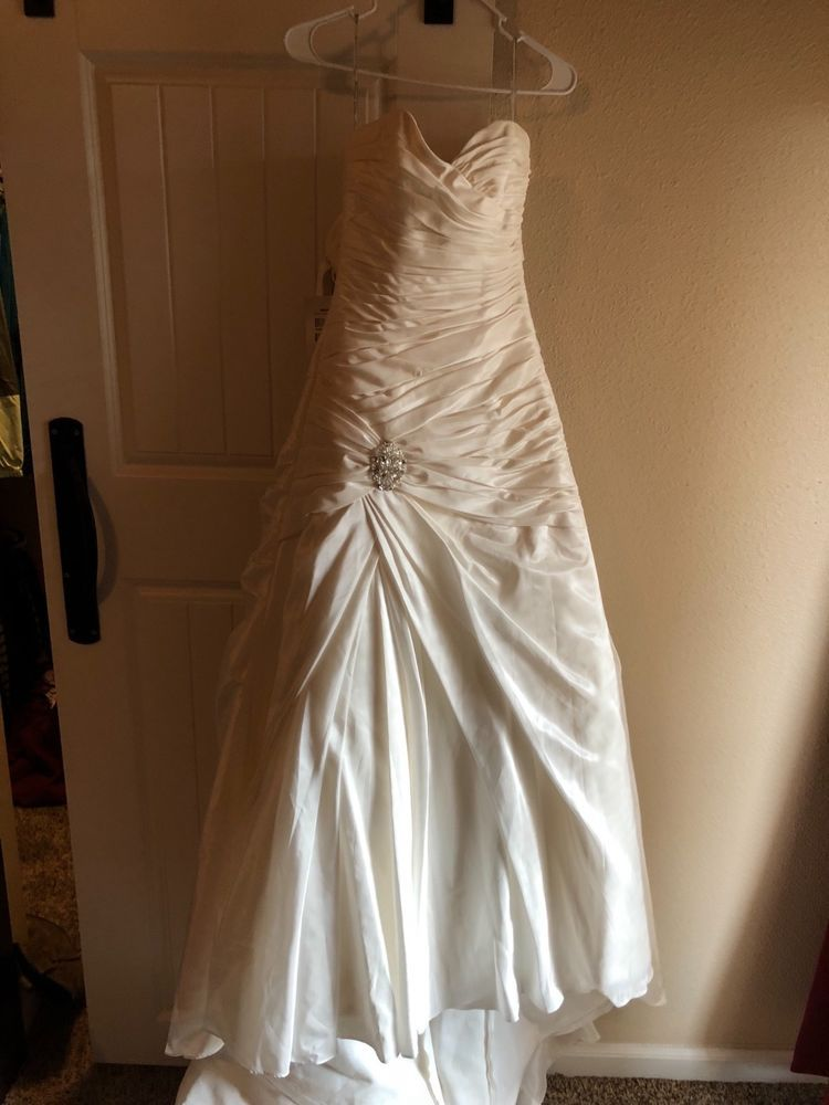 New White X2f Ivory Wedding Dress Bridal Gown Custom Size 6 8 10 12 14 16 18 Clothing Shoes Accesso Ball Gowns Wedding Wedding Dresses Bridal Ball Gown