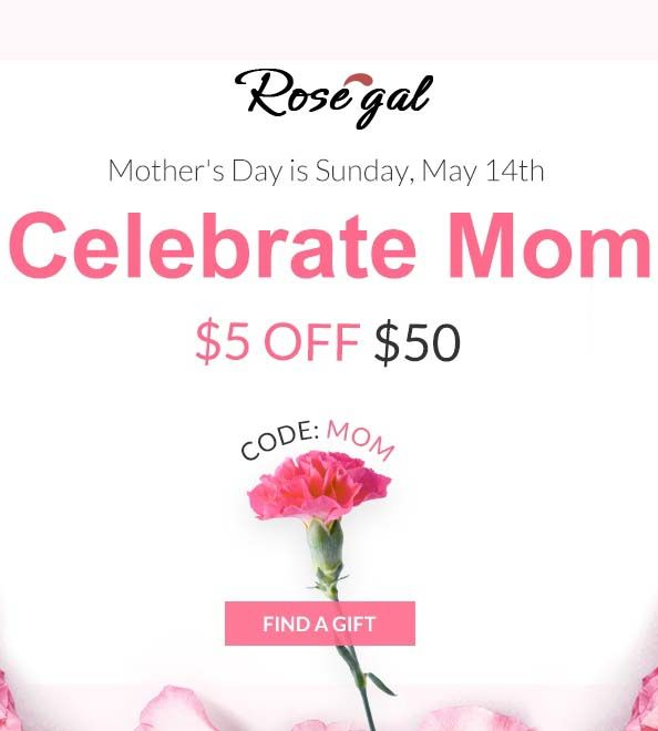 Get $5 discount on $50 buy some thing special from rosegal ...