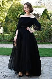 فساتين قصيرة منفوشة اسود Fashion Street Style Chic Dresses