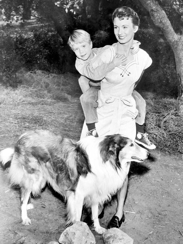 Cloris Leachman the first year she was Timmy's mom (Jon