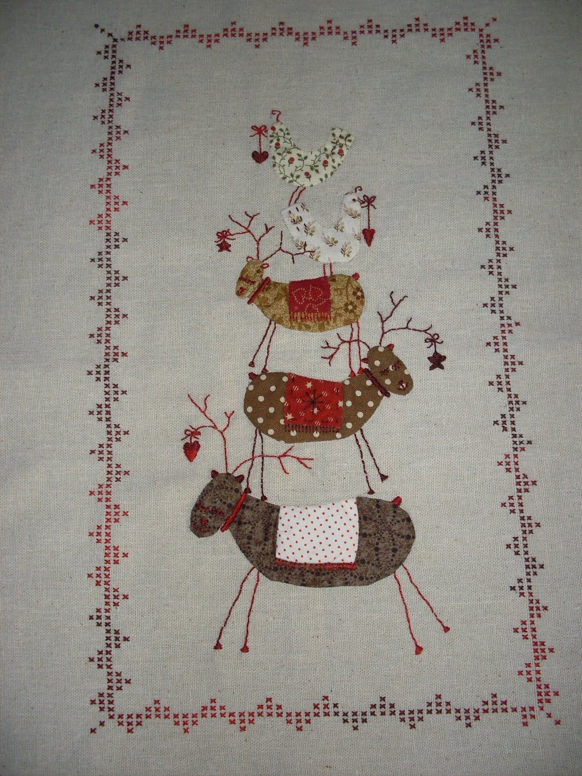 nordic christmas quilt | Happy Quilting Diana: Scandinavian Christmas