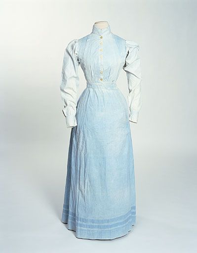 Servants Dress 1905, Made of cotton