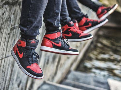 Nike Air Jordan 1 Bred (by Bry Madiam Limon)
