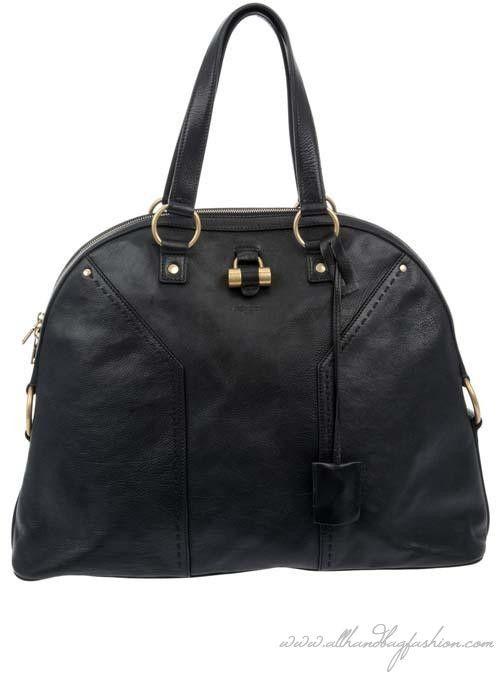 Yves Saint Laurent 'Muse' bag | Yves saint laurent, Black