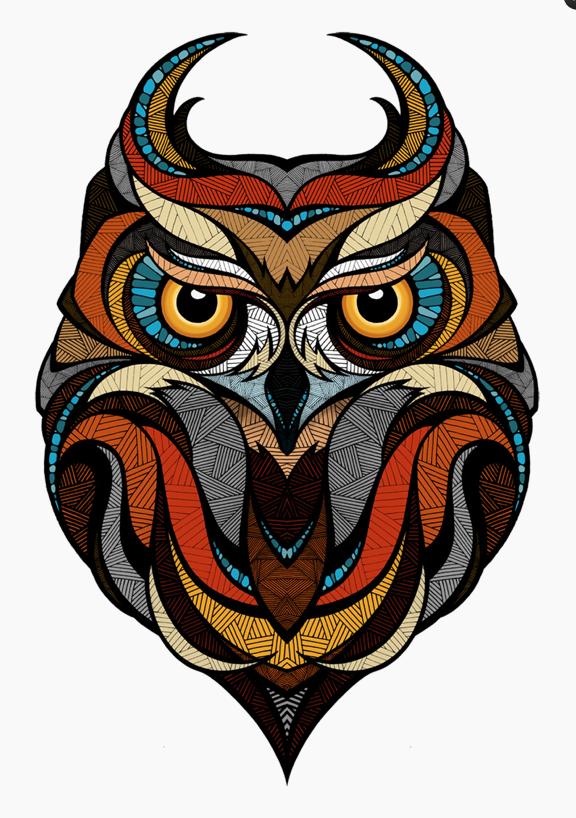 Lindona E Com Cara De Mau Buhos Tattoos Pinterest Owl Art Art