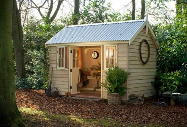 attic design virginia woolf her writing shed