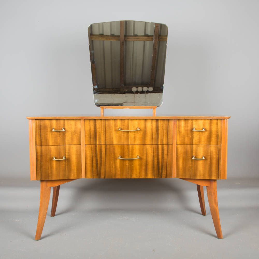 A 1950s Cumbrae Dressing Table By Morris Of Glasgow Retro Mid