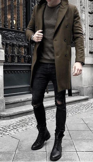 60 Winter Outfits für Männer – kaltes Wetter männliche Styles - Mann Stil | Tattoo