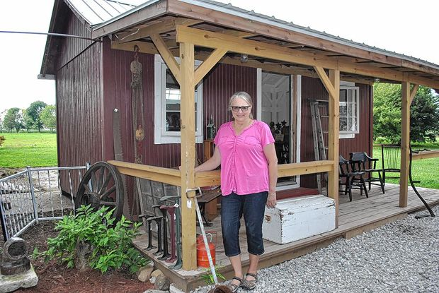 Cabin Restored Trailer To Be Unveiled During Autumn Gathering Johnstown Restoration Timber