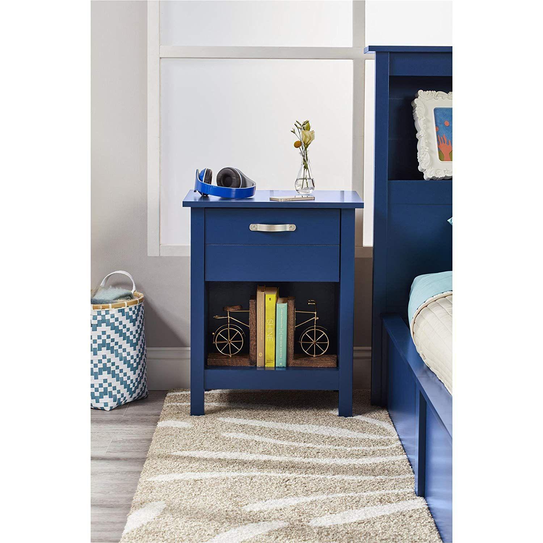 Nachttisch Blau