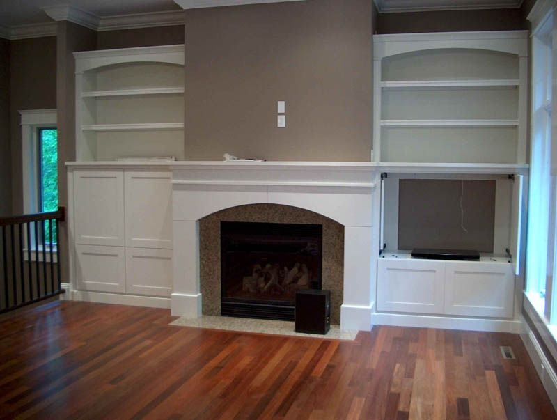 Fireplace Cabinet Design | Fireplaces With Cabinets