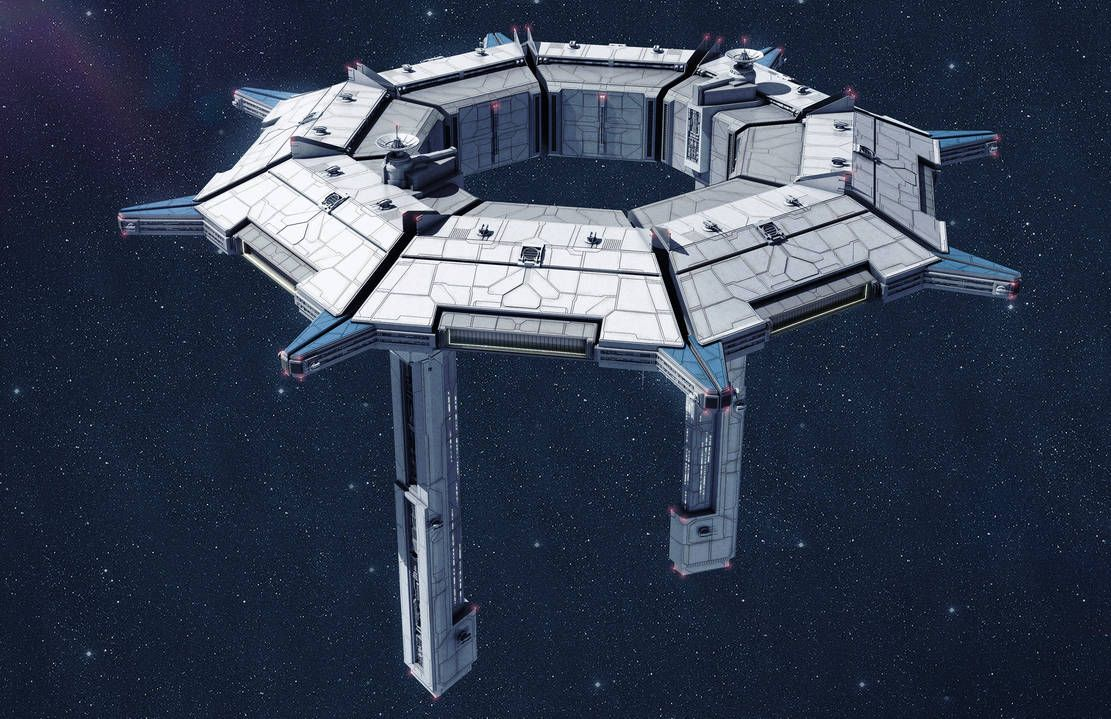 Textspaced Fortress (space) by AdamKop (With images