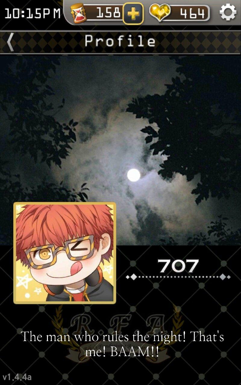 Seven Zero Seven!! The man who rules the night.