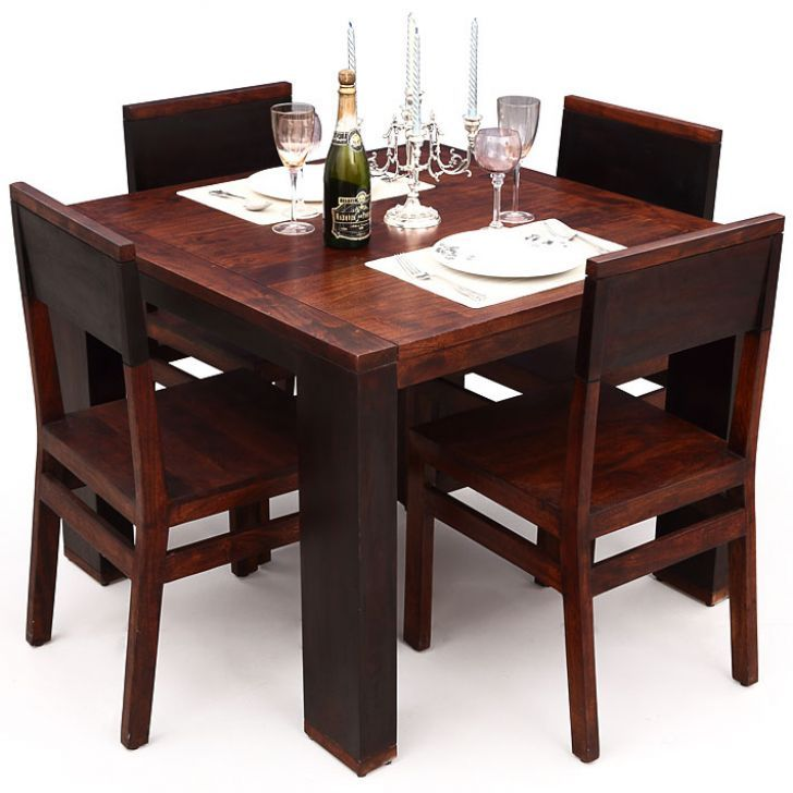 Elmwood Imperial Dining Table With Four Chair Dining Sets Dining