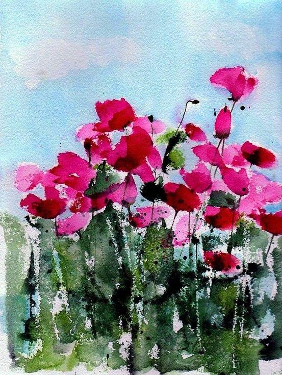 Maddys Poppies - unknown artist