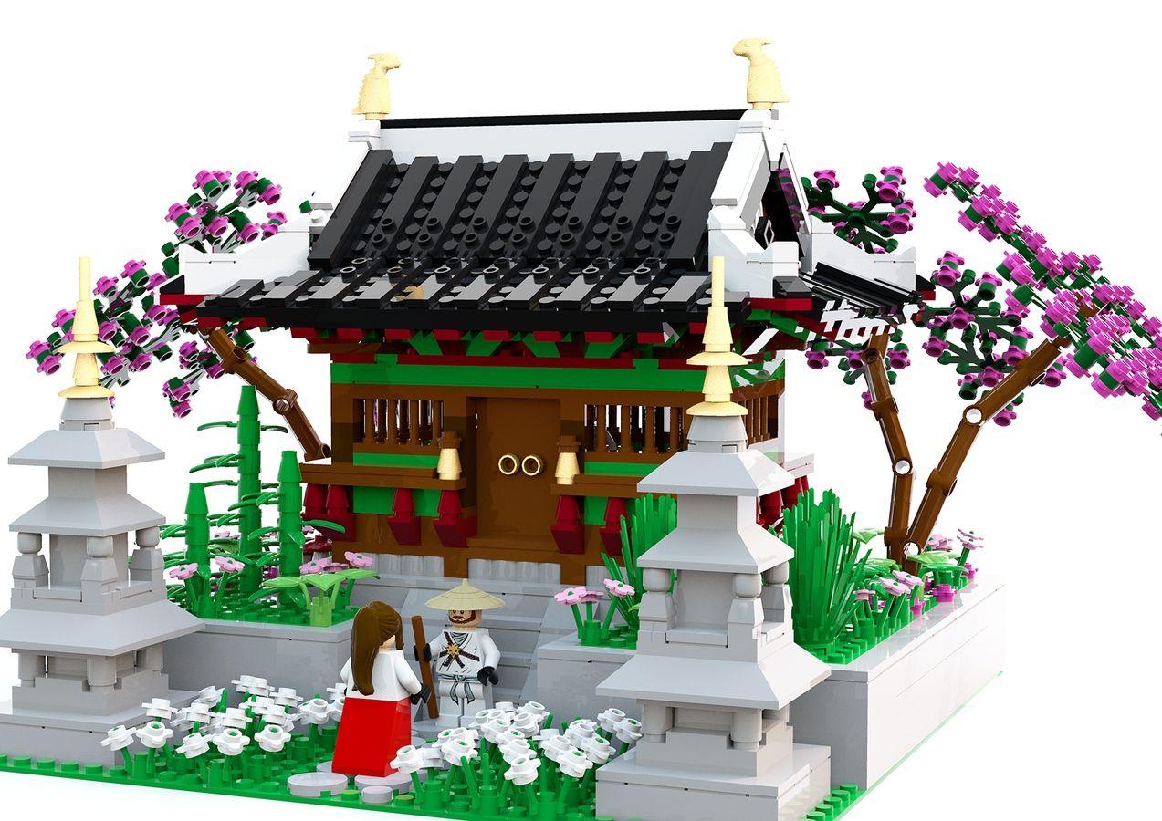 Cherryblossom Temple Lego Creations Lego Design Lego Ninjago City