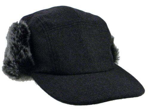 84fdc1236f3 Faux Fur Winter Trapper Warm Hat with Earflap