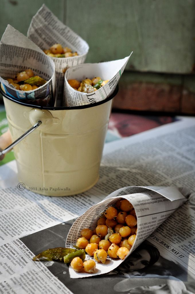 South indian Street Food Sundal Chickpea Salad