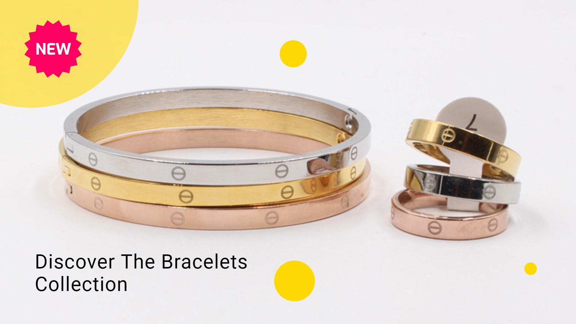 اساور كارتير وخواتم Slim Cartier Love Bracelet Accessories Bracelets Bracelet Collection