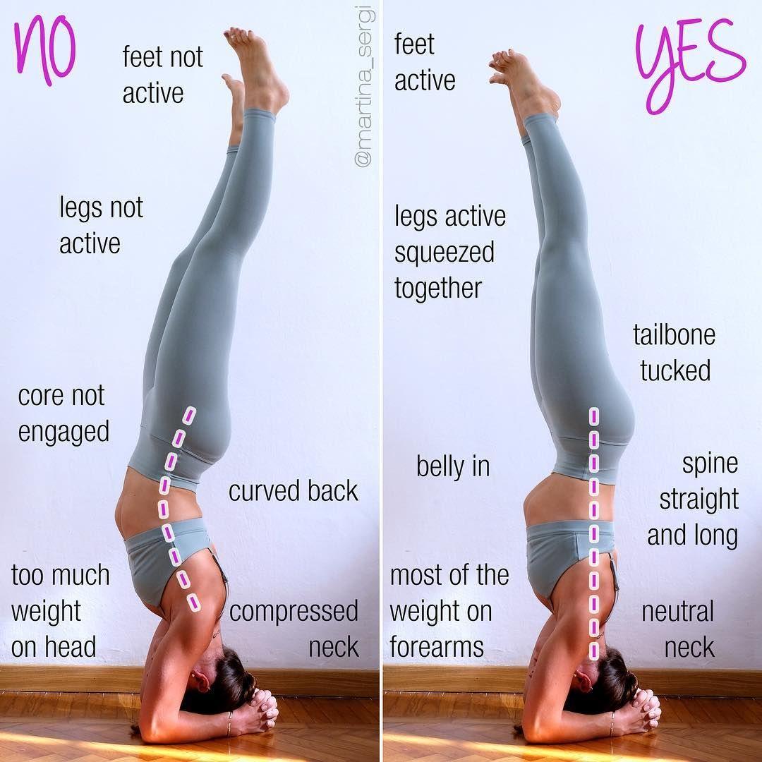 Martina Thetwomartinas Martina Sergi On Instagram Yogawithmarti Sirsasana Or Headstand Few Days Ago I Post Yoga Benefits Advanced Yoga Yoga Postures