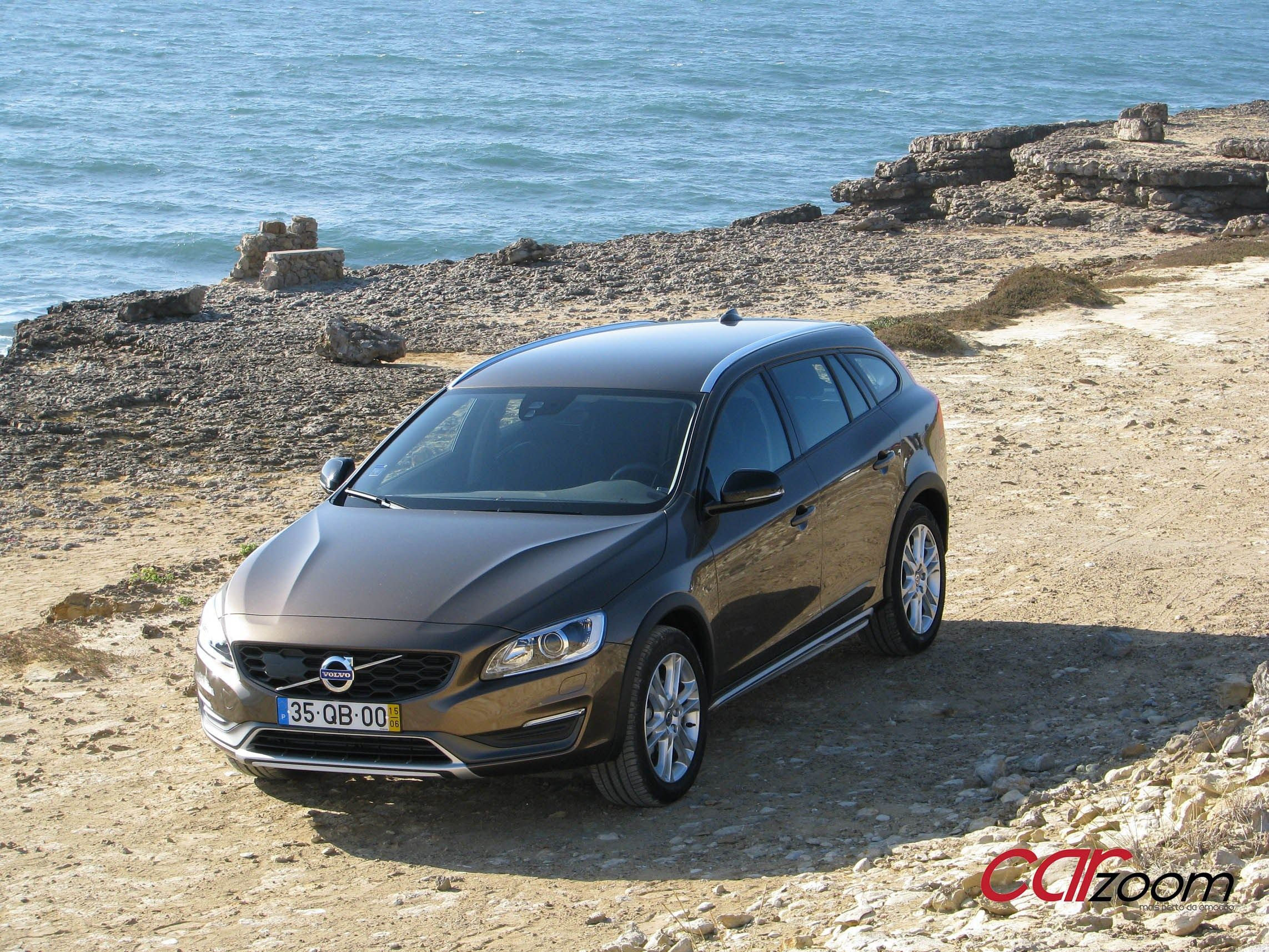 Volvo V60 D3 Cross Country: Um familiar aventureiro.