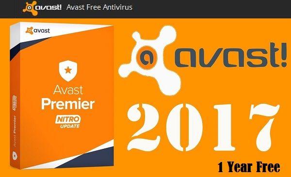 activation key of avast antivirus 2017