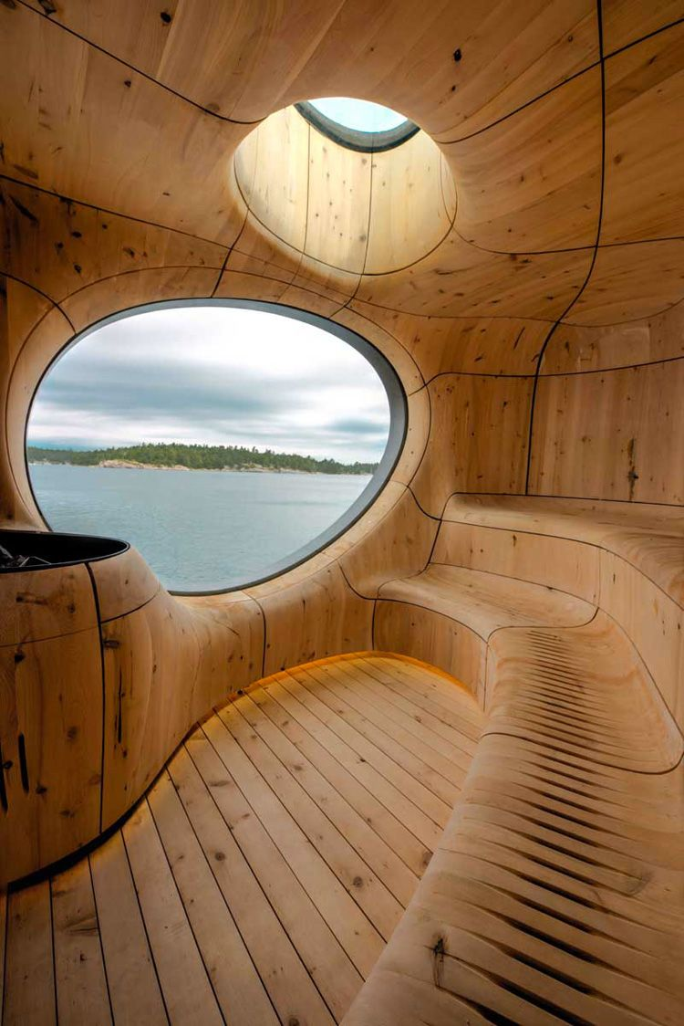 Grotto Sauna by Partisans, Toronto