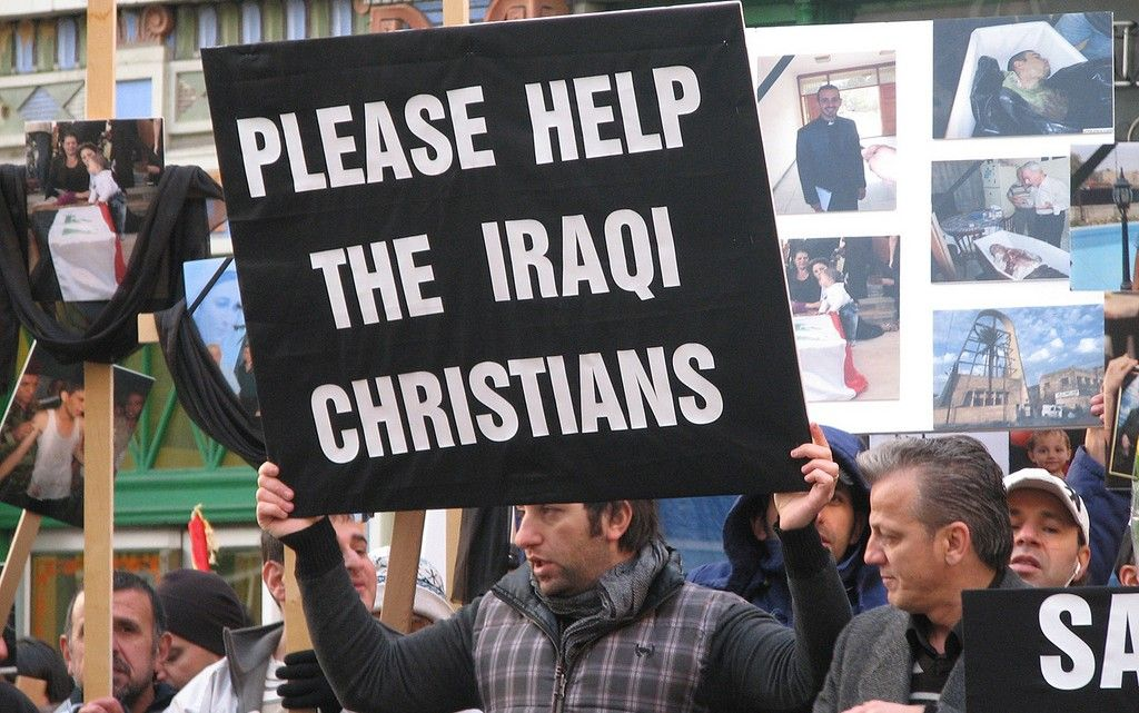 Image result for anti-christian protest