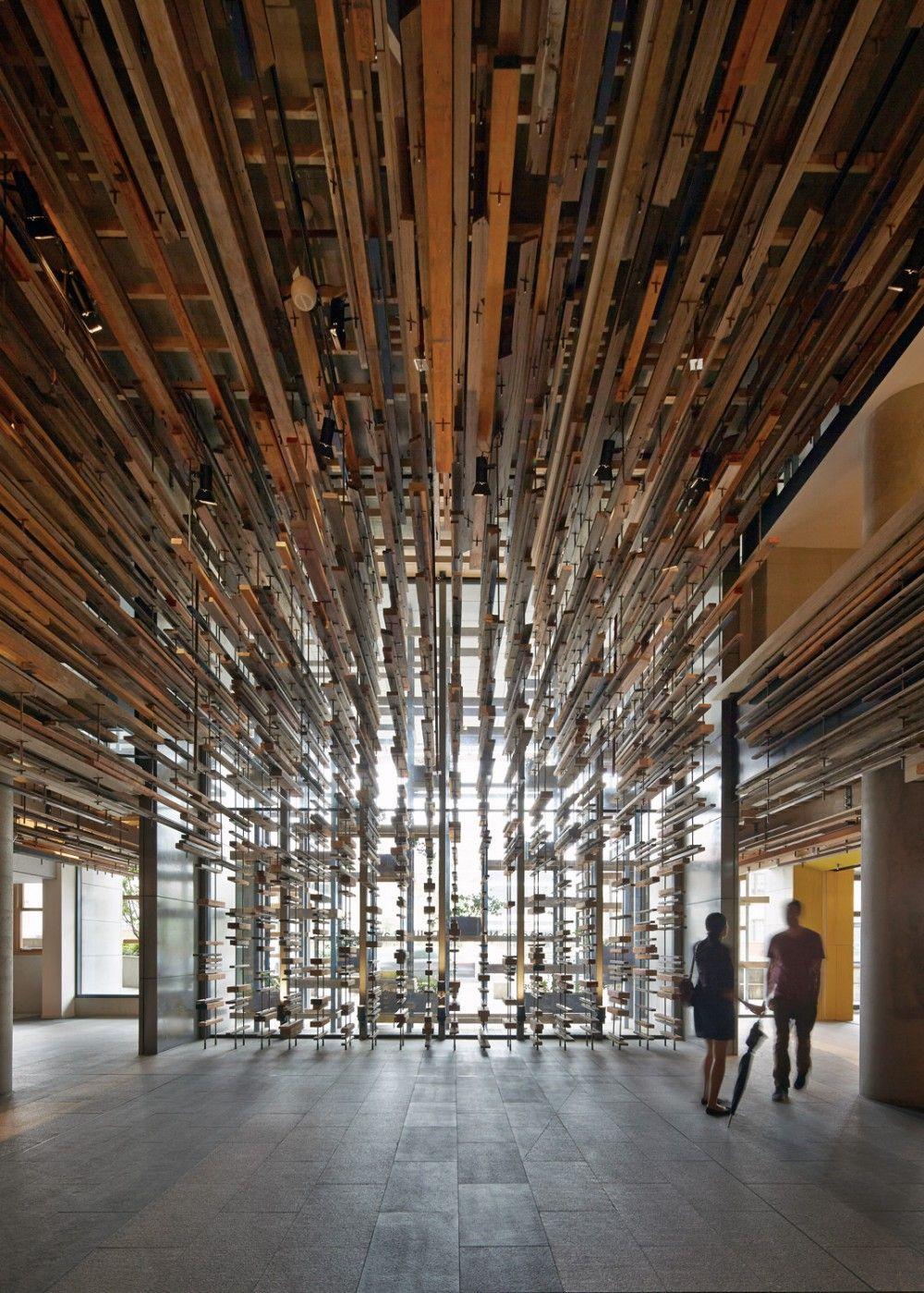 Lobby Hotelhotel Y Gran Escalera Interior Nishi March Studio