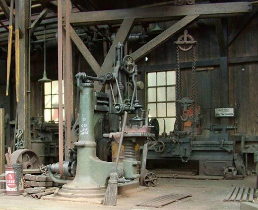 Old Radial Drill | Models | Woodworking machinery ...  Old Radial Dril...