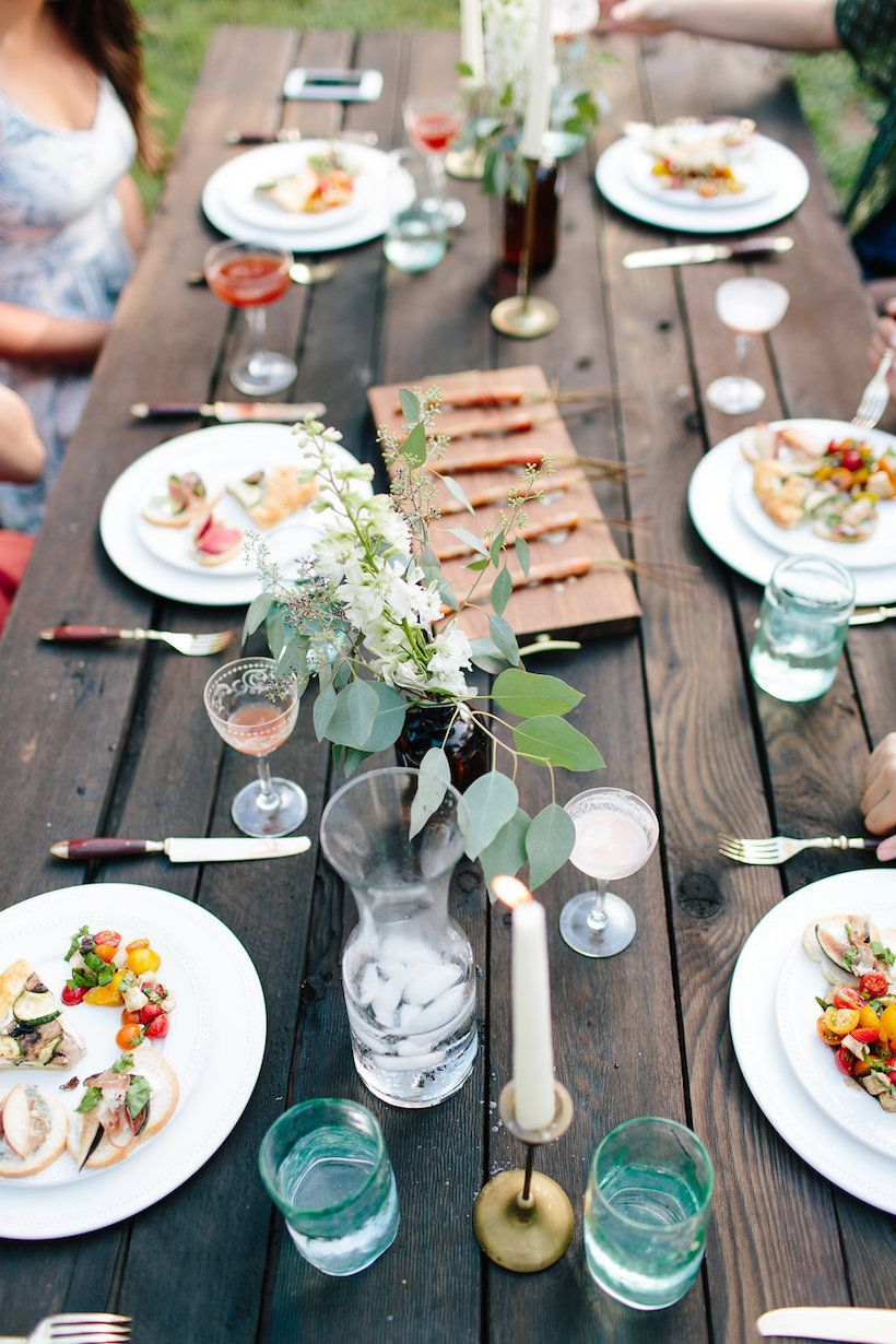 A Picturesque Backyard Dinner Party with Rui Nakata ...