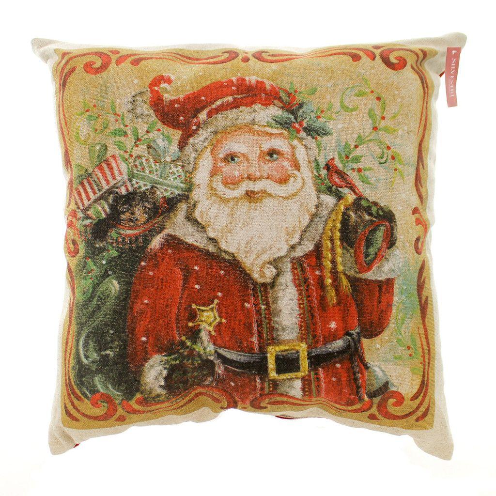 Santa Throw Pillow Accent Pillow - Story Book Kids · Christmas DinnerwareChristmas ...  sc 1 st  Pinterest & Santa Throw Pillow Accent Pillow - Story Book Kids | CHRISTMAS ...