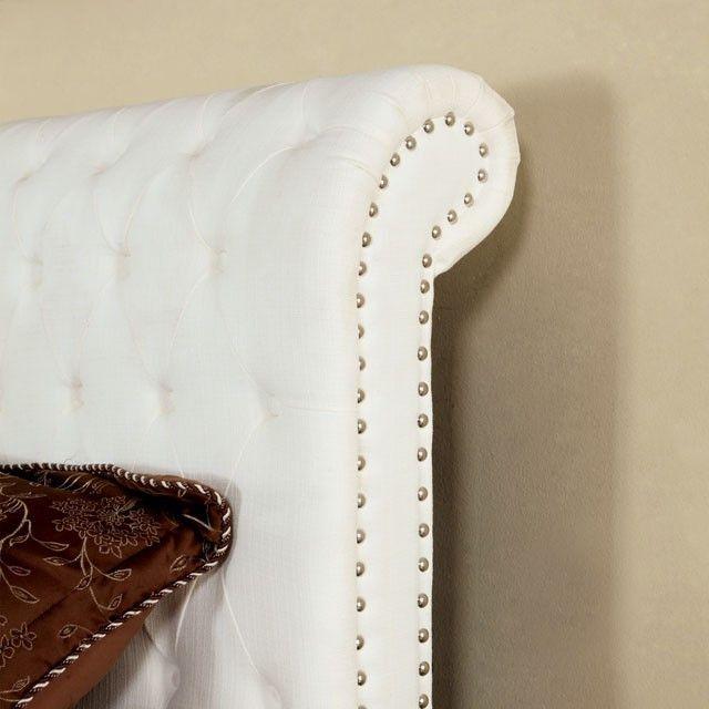 Furniture Of America Bennett Eastern King Bed Collection CM7603WH-EK