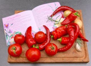 Zwergenmützchen Paprika gefüllt — Kunterbunte Familienküche