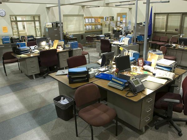 Image result for police precinct desks