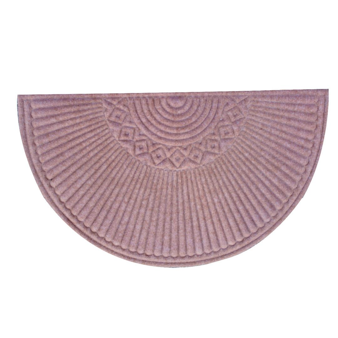 A1HC First Impression Nehemian Indoor/ Outdoor Semi Circle Doormat