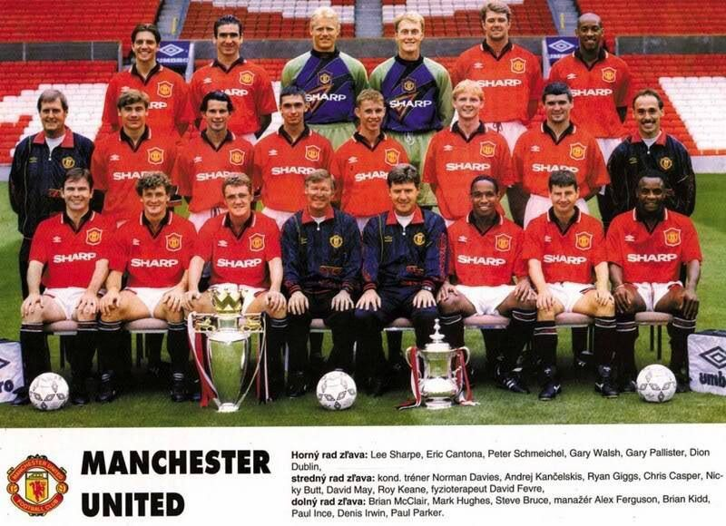 Mufc 94 95 Manchester United Gifts Manchester United Football Club Manchester United