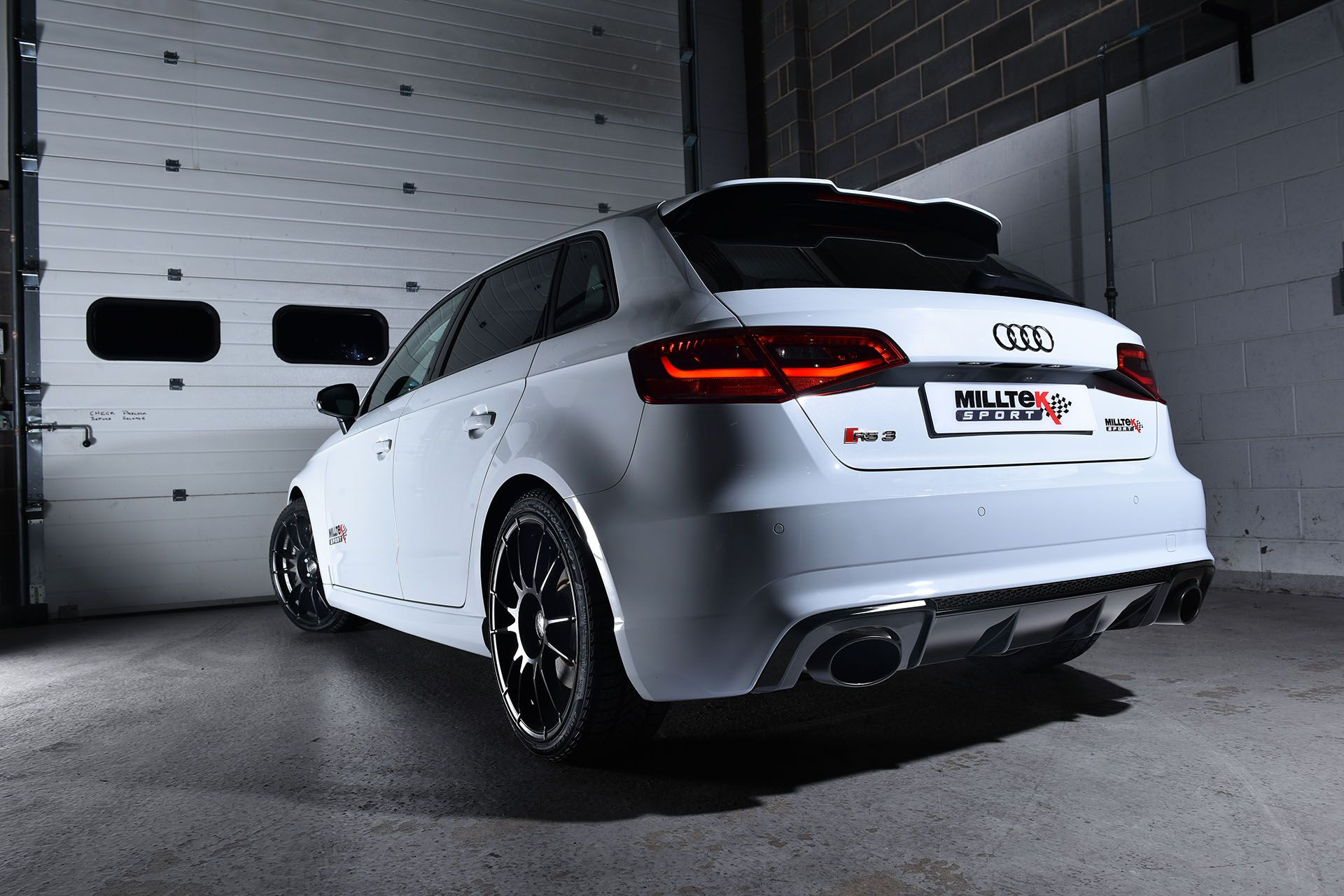 Milltek Sport Performance Exhaust Systems for the Audi RS3 Sportback