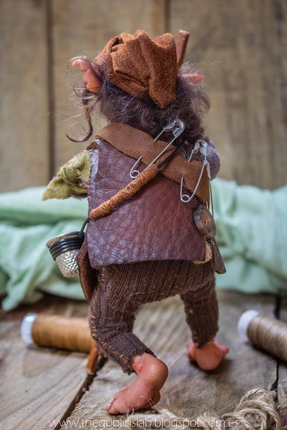 house elf faerie ooak fantasy artdoll