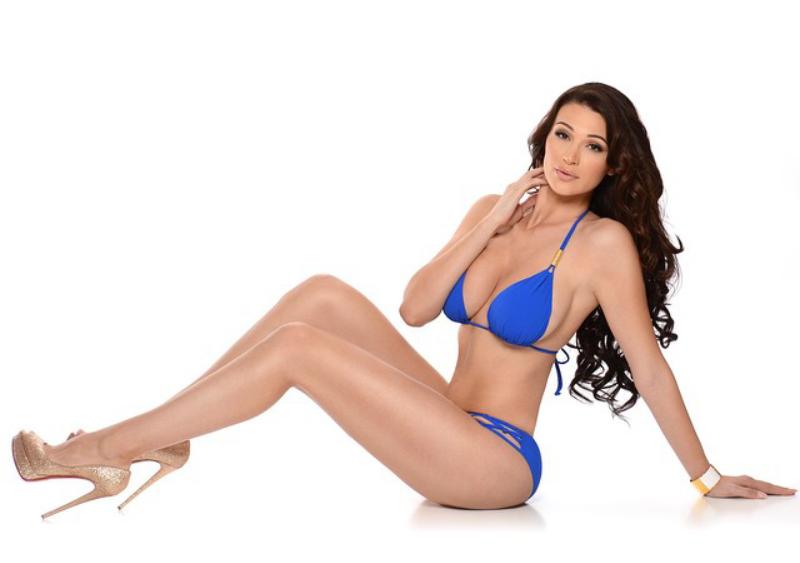 Bikini high heel model