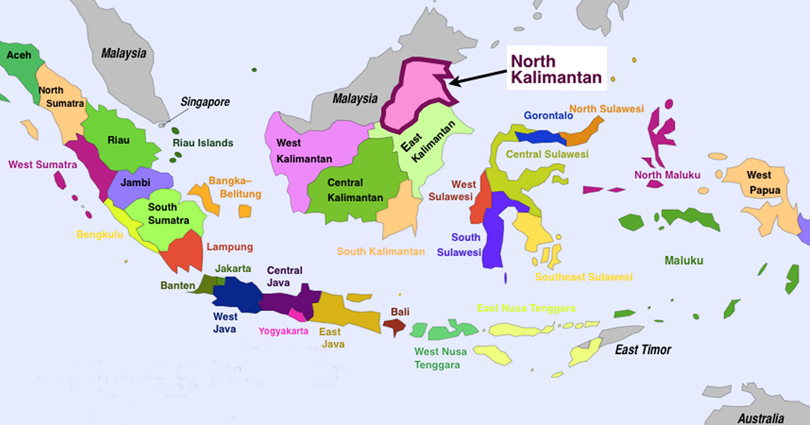 Gambar Peta Indonesia Beserta Provinsi Http Bit Ly 2nejhkd Pemandangan