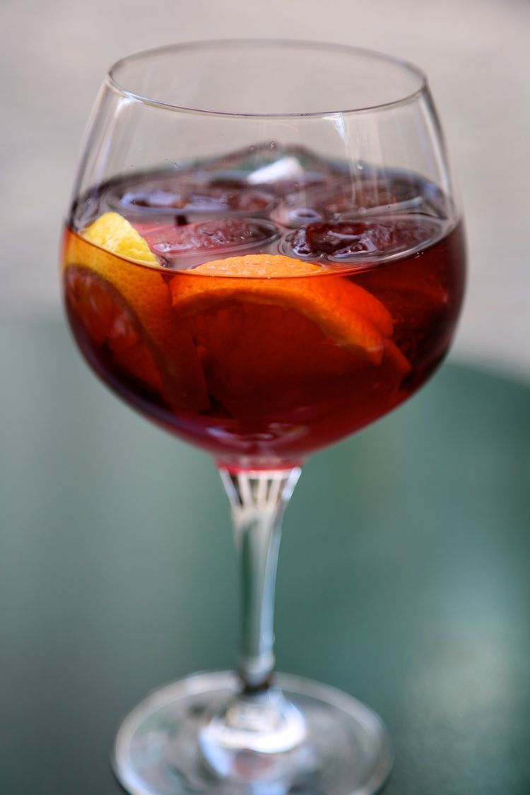 Tasty Fruit Sangria Recipe With Red Wine And Grand Marnier Recipe Red Wine Drinks Fruit Sangria Sangria Recipes