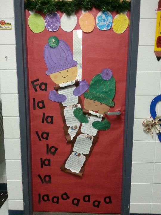 christmas classroom door decorations. Christmas Classroom Door Decorations N