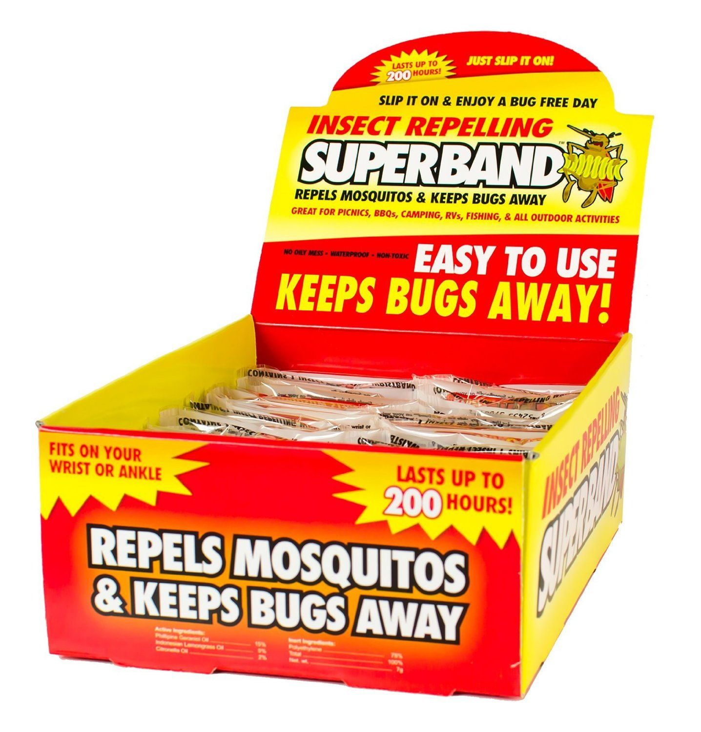 Evergreen Research SB39001 Insect Repelling SuperBand Box